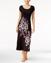 Alfani Floral Print Knit Nightgown Only At Macy's Whisper Floral