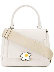 Anya Hindmarch Egg Bathurst Satchel White