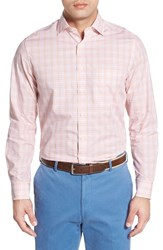 Men's Bobby Jones Classic Fit Long Sleeve Plaid Sport Shirt Blossom