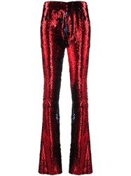 Marques Almeida Marques'almeida Sequinned Flared Trousers 60