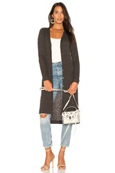 Michael Stars Long Sleeve Duster Gray