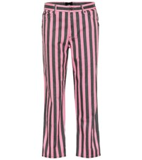 Marc Jacobs St. Mark's Mid Rise Straight Jeans Pink