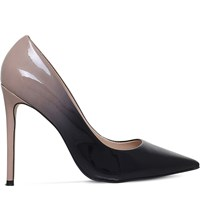 Carvela Alice Patent Leather Ombra Courts Nude