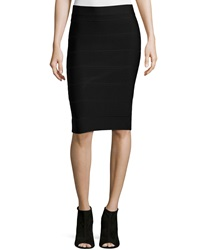 Romeo And Juliet Couture Stretch Knit Pencil Skirt Black