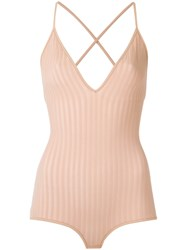 Giuliana Romanno Ribbed Body Rose