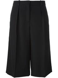Maison Martin Margiela Tailored Knee Length Shorts Black