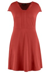 Dorothy Perkins Curve Jersey Dress Red