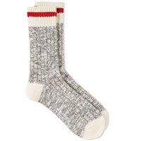 Maple Heritage Speckle Sock Grey