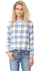 Madewell Ex Bf Shirt Rainy Day