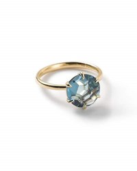 Ippolita 18K Rock Candy London Blue Topaz Ring