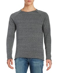 Selected Cotton Crewneck Sweater Grey
