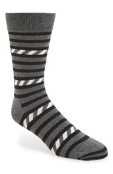 Happy Socks Men's Stripe Cotton Blend