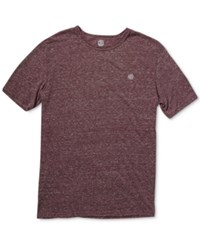 Element Men's Fundamental T Shirt Wnh Wine H