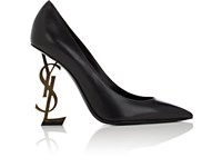 Saint Laurent Opyum Leather Pumps Black