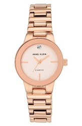 Anne Klein Women's Diamond Dial Bracelet Watch 30Mm
