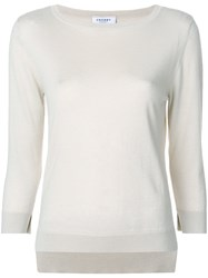 Snobby Sheep Crew Neck Jumper Nude And Neutrals
