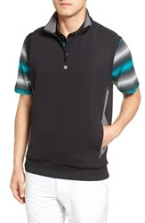 Bobby Jones Men's Rule 18 Tech Quarter Zip Vest