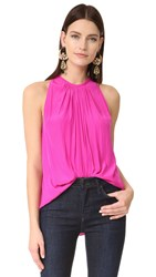 Ramy Brook Sleeveless Piper Blouse Paradise Pink