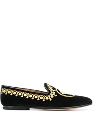 Versace Medusa Head Loafers Black