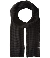 The North Face Waffle Scarf Tnf Black Scarves