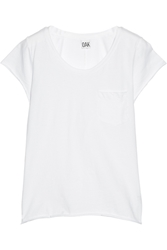 Oak Cotton Jersey T Shirt White