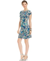 Ny Collection Petite Stained Glass Hardware Dress