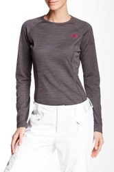 The North Face Warm Crew Neck Tee Gray