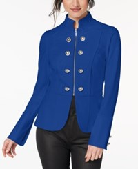 Xoxo Juniors' Embellished Blazer Blue Depths