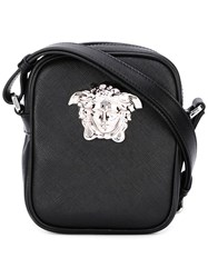 Versace Small Palazzo Medusa Shoulder Bag Black