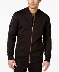 Sean John Taped Bomber Jacket