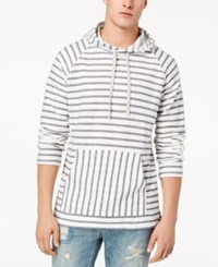 American Rag Men's Striped Tonal Hoodie Created For Macy's Sweet Cream