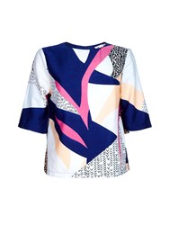 Yumi Nordic Shell Top Multi Coloured Multi Coloured