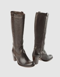 Paul Smith By High Heeled Boots Cocoa