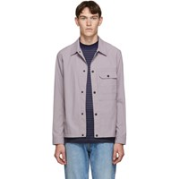 Paul Smith Ps By Purple Shirt Jacket