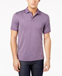 32 Degrees Men's Pro Mesh Polo Dark Heather Plum