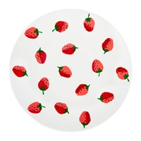 Kate Spade Strawberries Dinner Plate