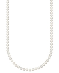 Belle De Mer Pearl Necklace 24' 14K Gold Aaa Akoya Cultured Pearl Strand 8 8 1 2Mm