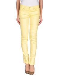 Mother Denim Pants Yellow
