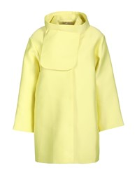 Emilia Wickstead Coats Yellow