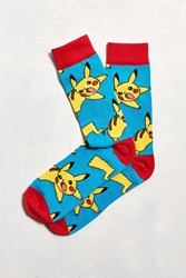 Urban Outfitters Pokemon Sock Blue