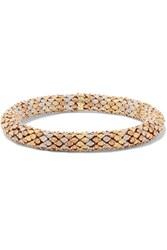 Carolina Bucci Twister 18 Karat Gold Bracelet One Size