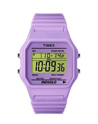 Timex 80 T2n267 Watch Purple