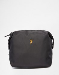 Farah Laverick Wash Bag Black