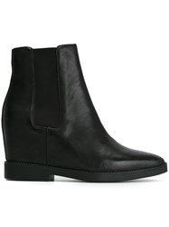 Ash 'Gong' Ankle Boots Black
