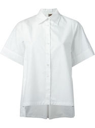 Isola Marras Box Fit Short Sleeve Shirt White