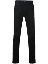 Monkey Time Distressed Skinny Trousers Black