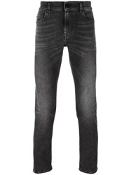 Pence Slim Fit Jeans Grey