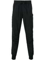Halo Tapered Track Pants Black