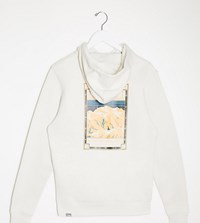 The North Face Faces Hoodie In Cream Exclusive At Asos