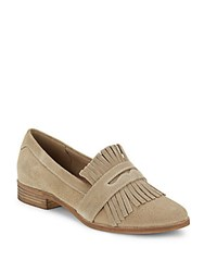 Seychelles Slip On Almond Toe Penny Loafers Taupe